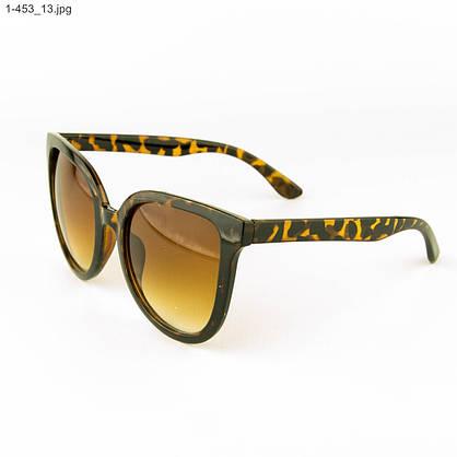 Оптом солнцезащитные женские очки - Леопардовые - 1-453, фото 3