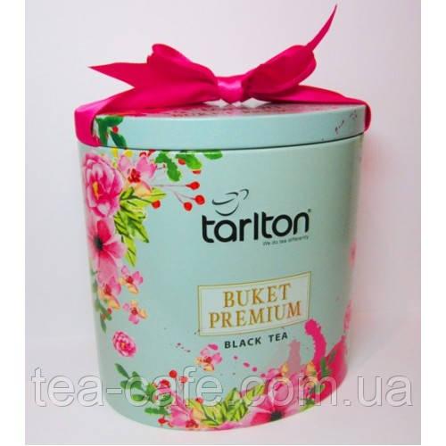 Чай чорний  TARLTON  Букет Преміум 100г. з/б