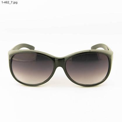 Оптом молодежные солнцезащитные очки - Черные - 1-462, фото 2