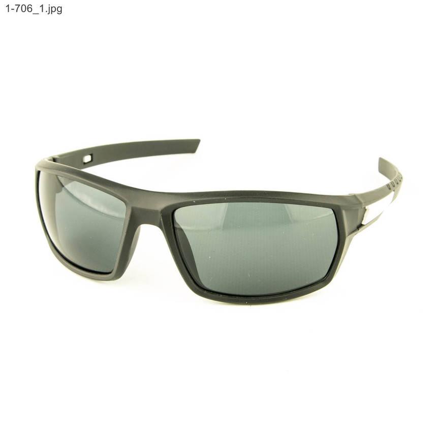 Оптом мужские солнцезащитные очки черные - 1-706, фото 2