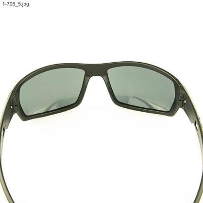 Оптом мужские солнцезащитные очки черные - 1-706, фото 3