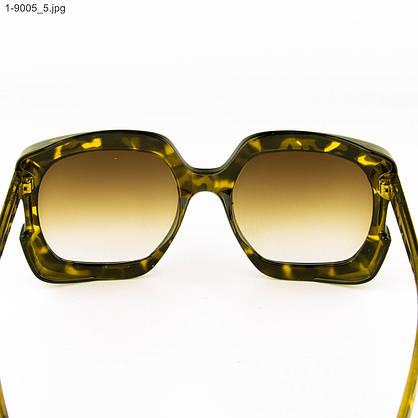 Оптом женские солнцезащитные очки - Леопардовые - 1-9005, фото 3