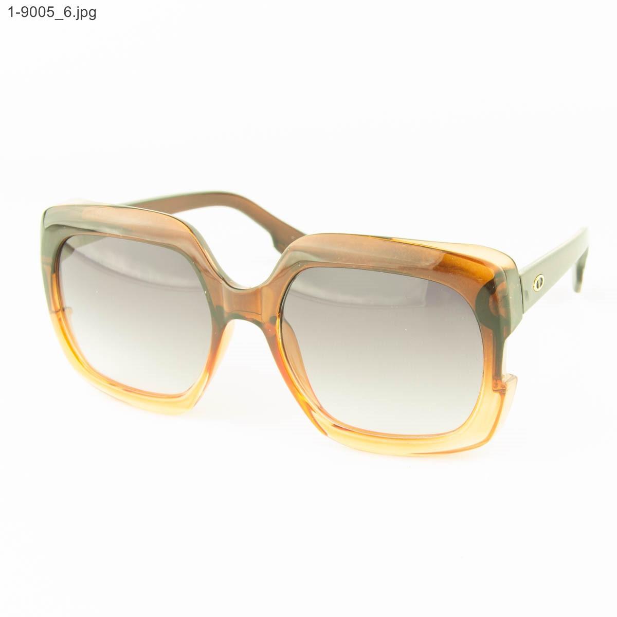 Оптом женские солнцезащитные очки - Цветные - 1-9005