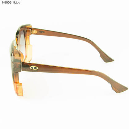 Оптом женские солнцезащитные очки - Цветные - 1-9005, фото 2