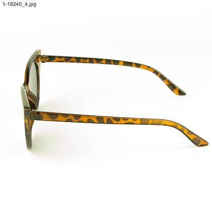 Оптом женские очки кошачий глаз - Леопардовые - 1-18240, фото 2