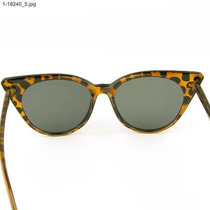 Оптом женские очки кошачий глаз - Леопардовые - 1-18240, фото 3