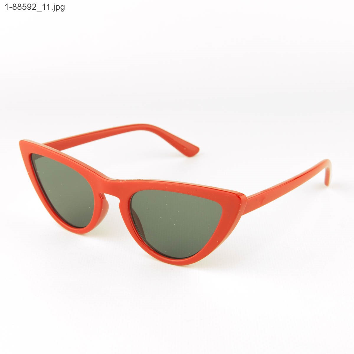Оптом женские очки кошачий глаз - Красные - 1-88592