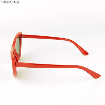 Оптом женские очки кошачий глаз - Красные - 1-88592, фото 2