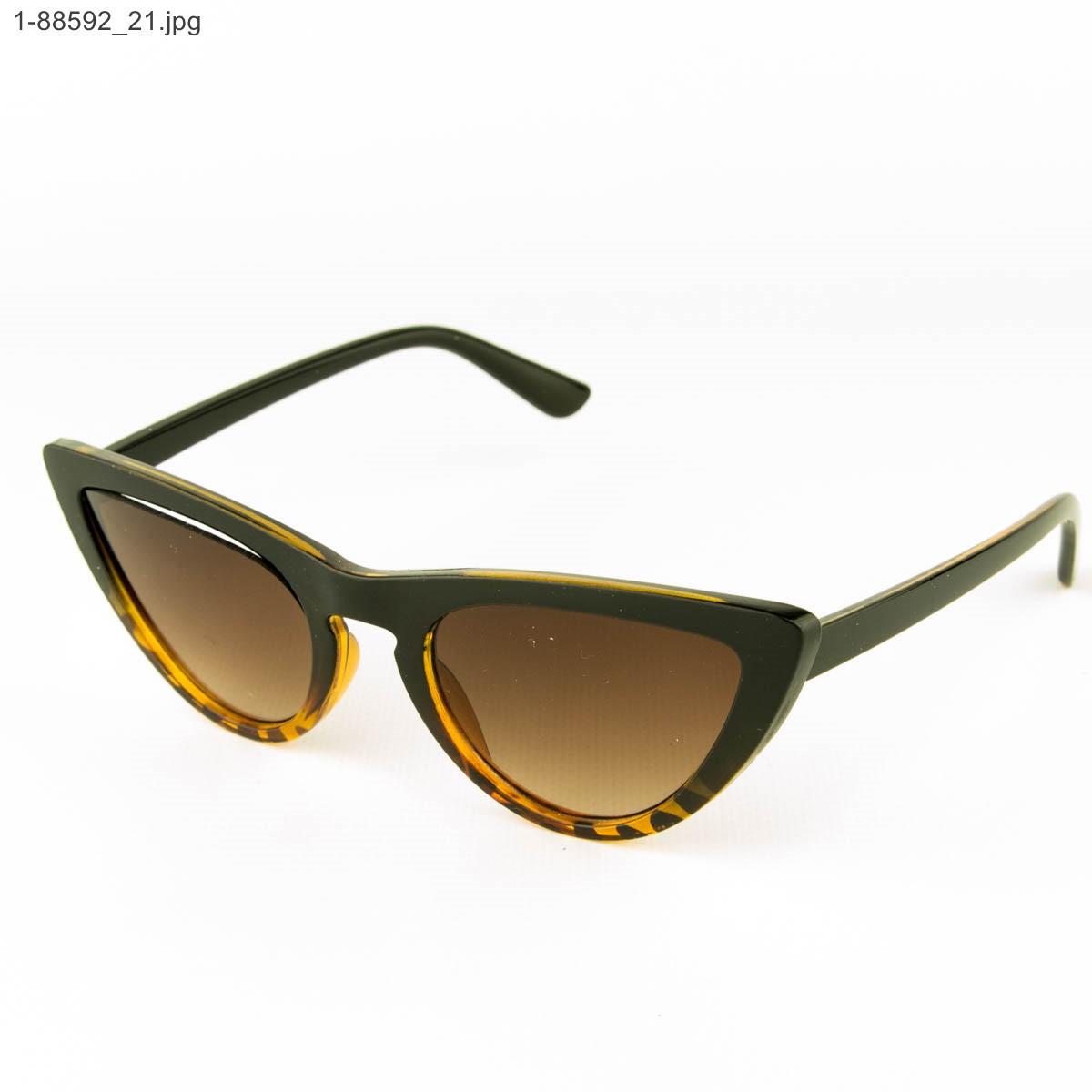 Оптом женские очки кошачий глаз - Леопардовые - 1-88592
