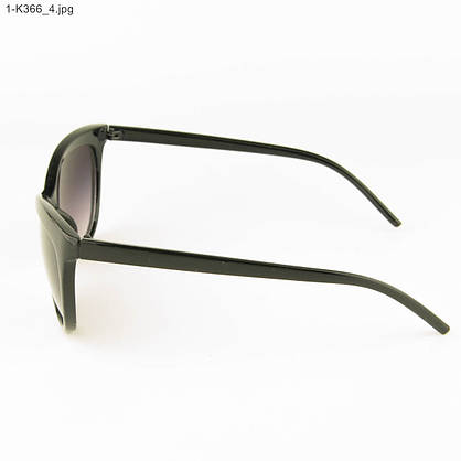Оптом очки женские солнцезащитные -Черные - 1-К366, фото 2