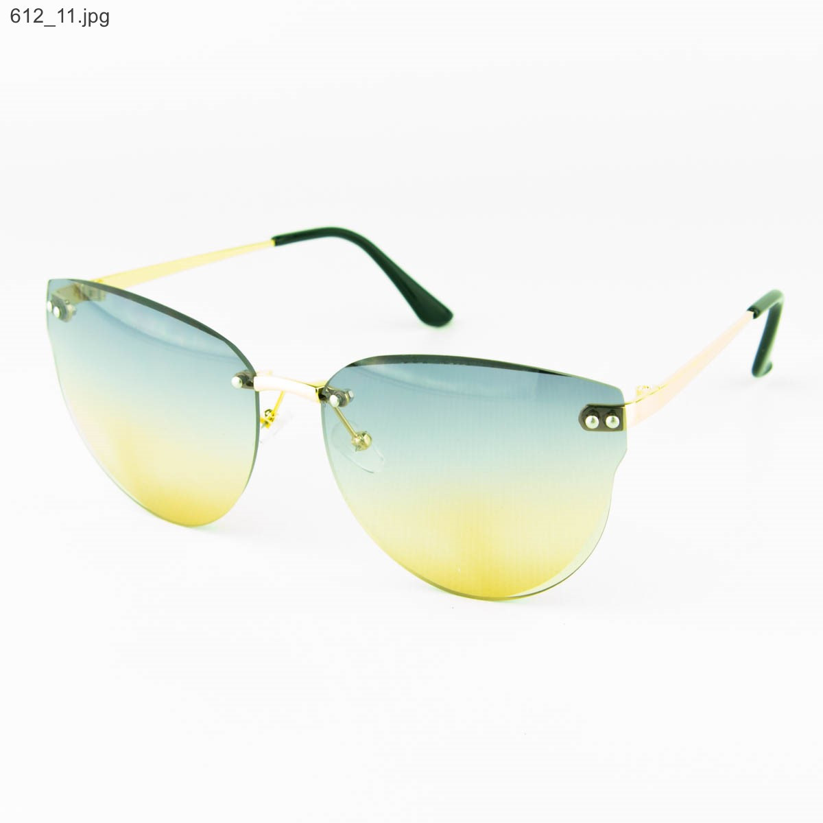 Оптом женские очки солнцезащитные - Цветные - 612