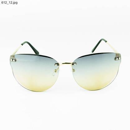 Оптом женские очки солнцезащитные - Цветные - 612, фото 2