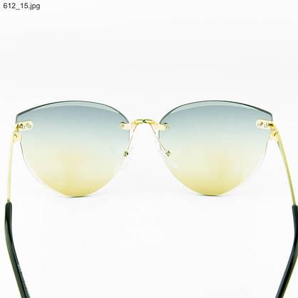Оптом женские очки солнцезащитные - Цветные - 612, фото 3