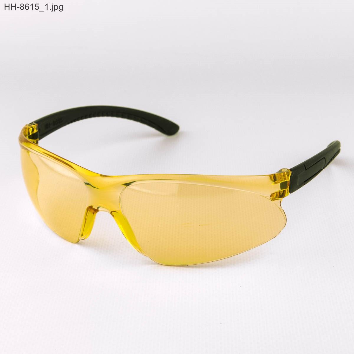 Оптом мужские очки черные с желтыми линзами - НН-8615