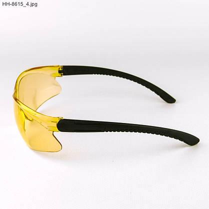 Оптом мужские очки черные с желтыми линзами - НН-8615, фото 2