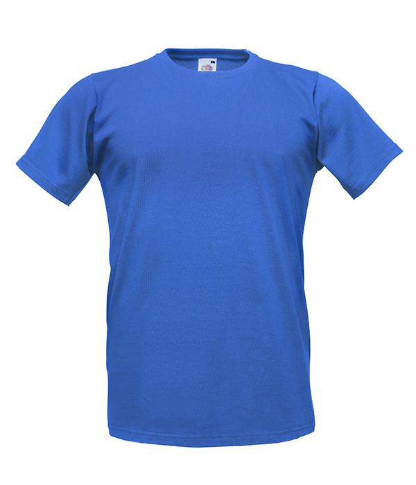 Мужская футболка приталенная XL, 51 Ярко-Синий