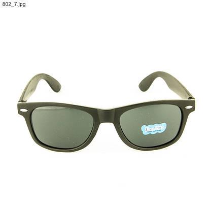 Оптом солнцезащитные очки Wayfarer - Черные - 802, фото 2