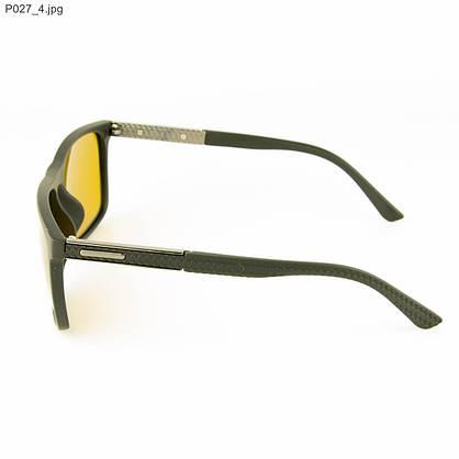 Оптом мужские очки для водителей Polarized с желтыми линзами - P027, фото 2