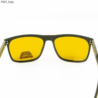 Оптом мужские очки для водителей Polarized с желтыми линзами - P027, фото 3