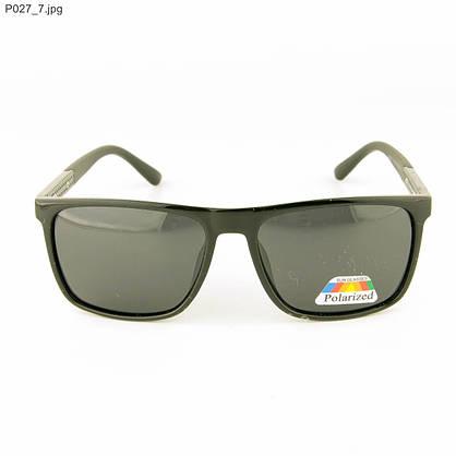 Оптом мужские очки Polarized - Черные - P027, фото 2
