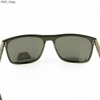 Оптом мужские очки Polarized - Черные - P027, фото 3