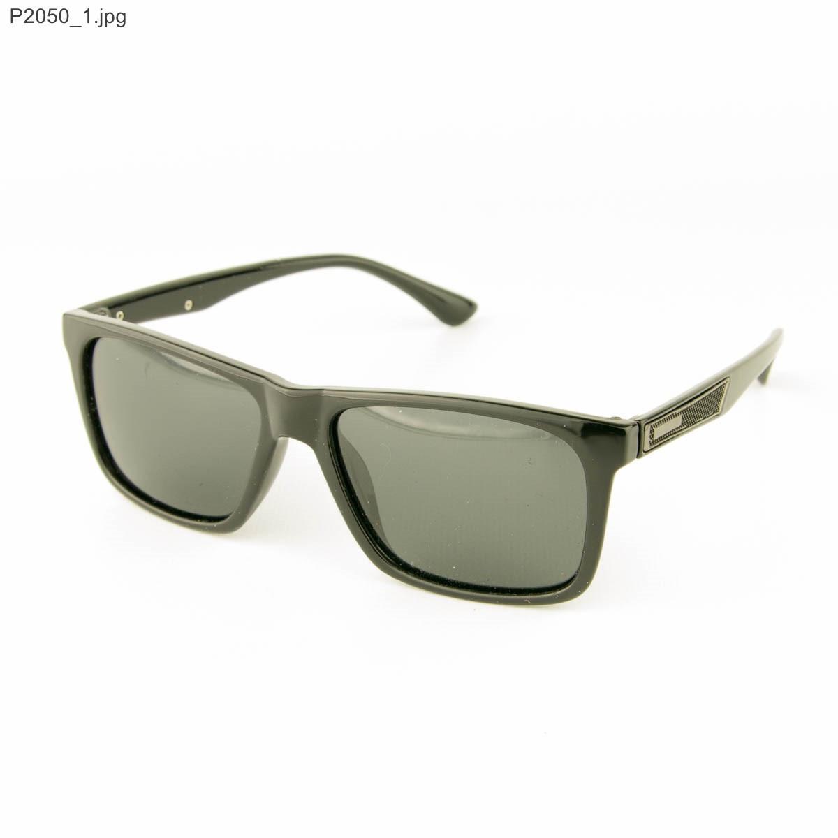 Оптом мужские солнцезащитные очки поляризационные - Черные - P2050