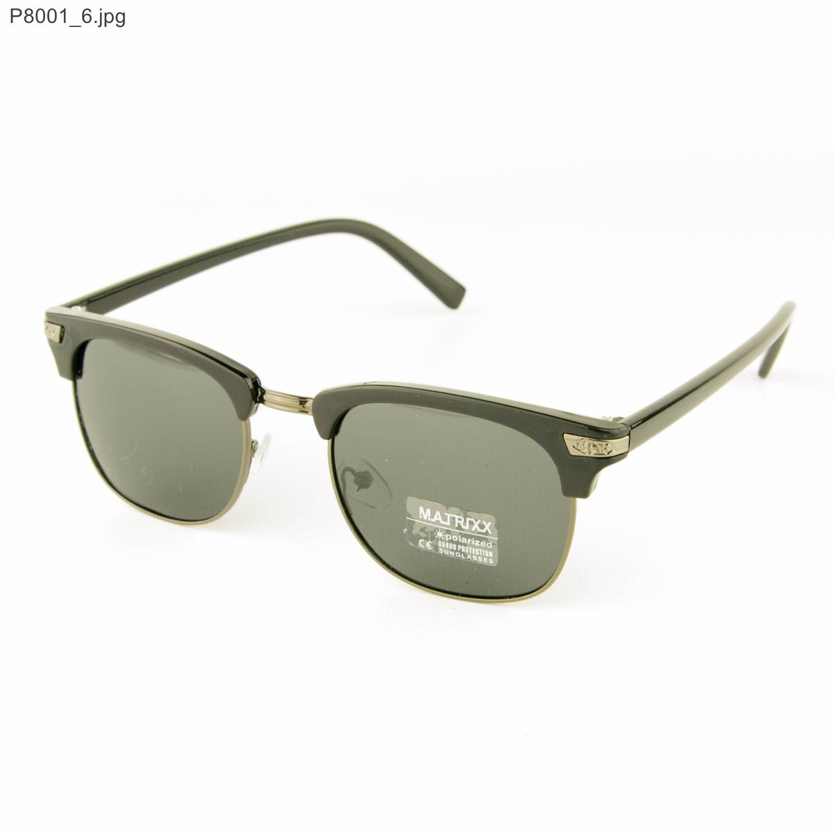 Оптом черные мужские поляризационные очки - P8001