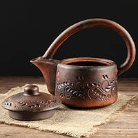 "Чайник глиняный ""Red Clay"" 1 л, фото 1"