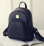 Детский мини рюкзак черный