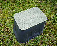 Сводчатый ПЭ колодец Park well 380 (Small Box 1419) для организации подключений опор освещения, 470х430х295мм