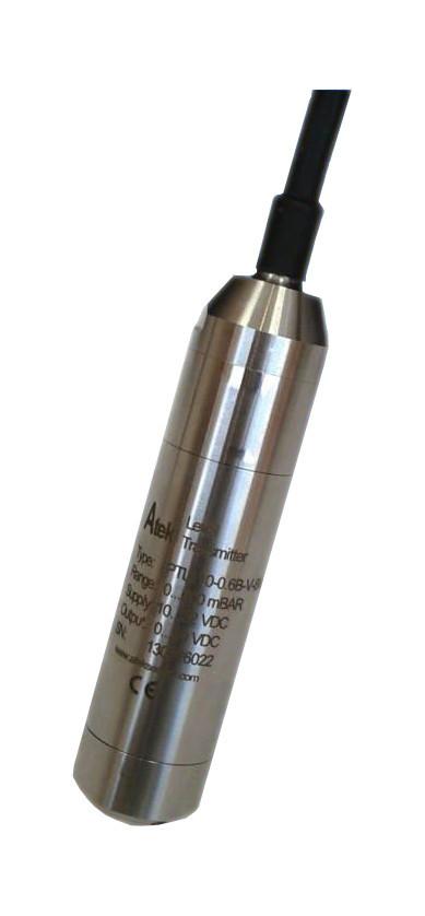 Гидростатический датчик уровня серии PTL 110, 0-600 мБар, 0-25 Бар, 4-20 mA, 0-10 V DC