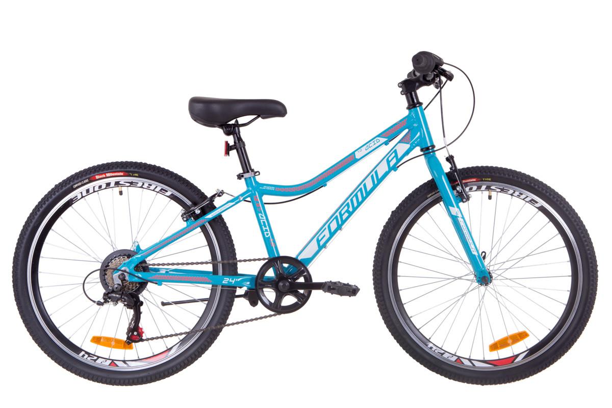 """Велосипед подростковый 24"""" Formula ACID 1.0 rigid 2019 (аквамарин)"""