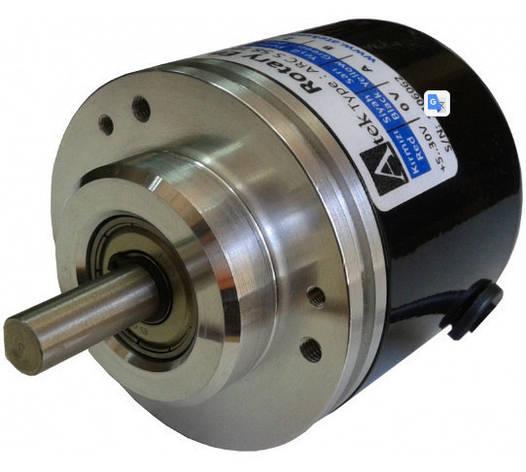 Інкрементальний магнітний енкодер ARS S 58, виступаючий вал, затискний фланець, фото 2