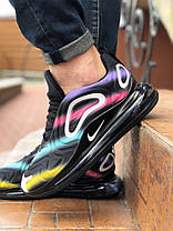 """Кроссовки Nike Air Max 720 Black Colorful """"Черные"""", фото 2"""