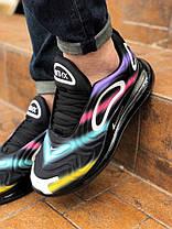 """Кроссовки Nike Air Max 720 Black Colorful """"Черные"""", фото 3"""