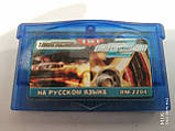 2 IN1 Need for Speed: Underground 1,2 Nintendo Gameboy Advance GBA, фото 2
