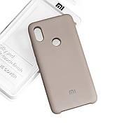 Силиконовый чехол на Xiaomi Redmi S2 Soft-touch Gray