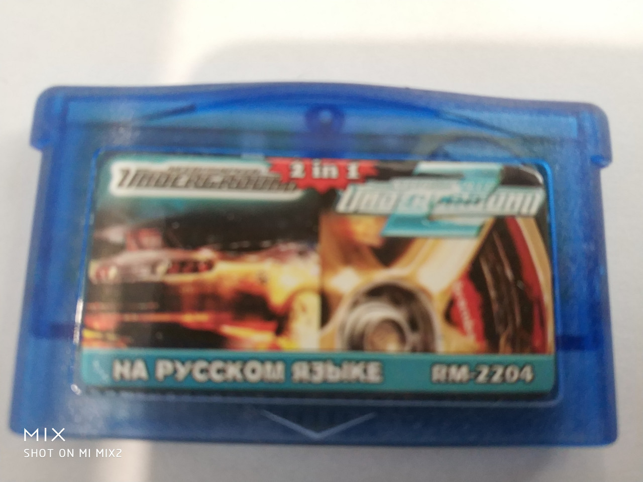 2 IN1 Need for Speed: Underground 1,2 Nintendo Gameboy Advance GBA