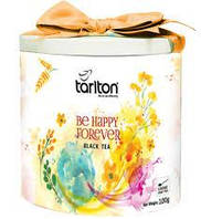 Чай чорний  TARLTON Be Happy Forever (Щастя) 100 гр з/б
