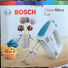 Миксер Bosch MFQ 2210D CleverMixx Fun (венчики, крюки для теста), фото 3