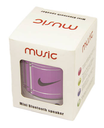 Портативна акумуляторна колонка Music Nike Bluetooth, фото 2