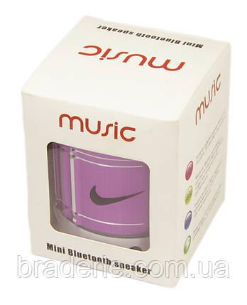 Портативная аккумуляторная колонка Music Nike Bluetooth, фото 2