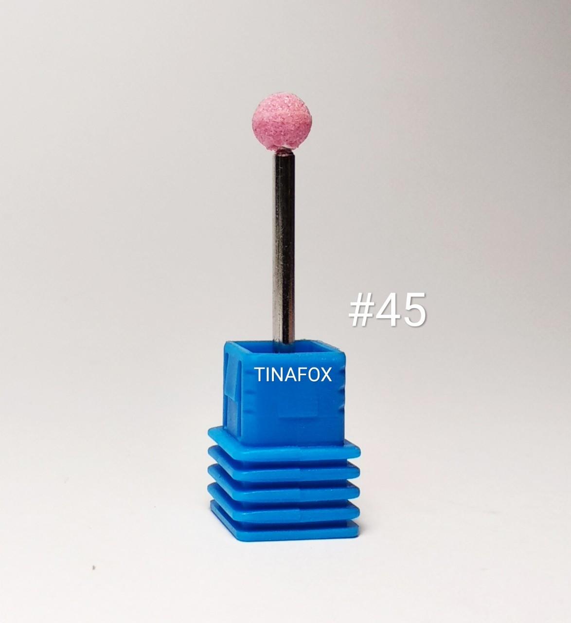 Корундовая насадка для маникюра/педикюра розовая №45