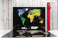 Скретч карта My Maps Black edition в наборе для любимого человека In Love, Скретч-карты мира