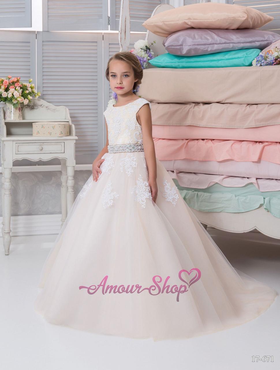 Детское нарядное платье (выпускной, конкурс, фотосессия, день рождения)