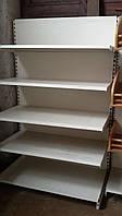 Торговые стеллажи с глубокими полками бу (Маго Польша), фото 1