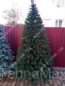 Литая елка Буковельская  2.10м. зеленая+гирлянда в подарок.