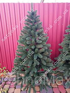 Литая елка Буковельская 1.50м. зеленая+гирлянда в подарок.
