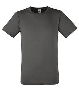 Мужская футболка приталенная 3XL, GL Светлый Графит