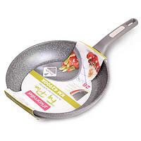 Сковородка Ø28см с гранитным покрытием из алюминия
